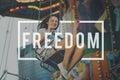Freedom Emancipated Human Rights Liberty Concept Royalty Free Stock Photo