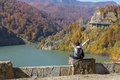 Freedom picture taken in romania siriu valley in a beautiful autumn Stock Photo