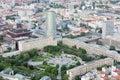 Freedom square (Namestie Slobody) in Old Town of Bratislava, Slovakia