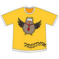 Freedom t-shirt Royalty Free Stock Image