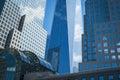 Freedom tower en new york city Imágenes de archivo libres de regalías