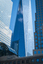 Freedom tower in new york city Lizenzfreies Stockfoto