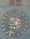 The Freedom Trail of Boston, Massachusetts Royalty Free Stock Photo