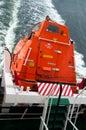 Freefall Lifeboat Royalty Free Stock Photo