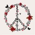 Freehand Peace, Love, Paris Il...