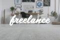 Freelance - cover photo Royalty Free Stock Photo