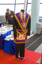 Freemason	suit Royalty Free Stock Photo