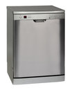 Freestanding INOX dishwasher Royalty Free Stock Photo