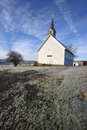 Freeze Church in Idaho. Royalty Free Stock Images