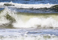 Freezed wave background of the sea waves Royalty Free Stock Photos