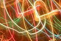 Freezelight background abstract with multiple color curves Stock Photo