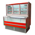 Freezer cabinet Stock Image