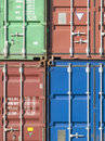 Freight containers Royalty Free Stock Image