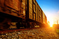 Freight train Royalty Free Stock Photo
