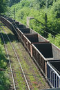 Freight train cars Royalty Free Stock Images