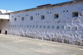 Fremantle Prison: Numbered Wall Royalty Free Stock Photo