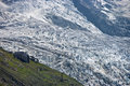 French Alps glacier Stock Image