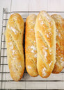 French baguettes Royalty Free Stock Photo