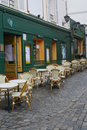 French Bistrot Royalty Free Stock Image
