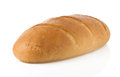 French bread on white Stock Photo