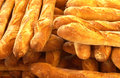 French breads in a bakery Royalty Free Stock Images