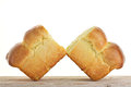 French brioche isolated french pastries Stock Photography