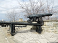 French Cannon, Quebec city Royalty Free Stock Photo