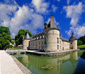 French Castle Stock Photo