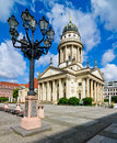 French cathedral in berlin germany franzoesischer dom at the gendarmenmarkt Royalty Free Stock Photo