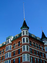 French chateau style hotel the idanha has been a château landmark in boise idaho since Royalty Free Stock Photography