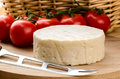 French cheese on a wooden board Stock Photography