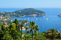 French coast cote d azur palm yacht Stock Images