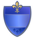 French coat of arms Royalty Free Stock Photos