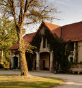 French Country Coach House Royalty Free Stock Image
