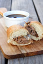 French Dip Sandwiches Royalty Free Stock Images