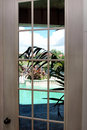 French door Stock Images