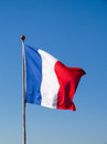 French Flag Pole Stock Photos