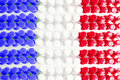 French Flag Texture Stock Photos