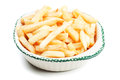 French fries in a bowl Stock Photo