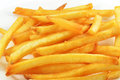 French fries detailed photo of a on white background Royalty Free Stock Images