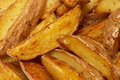 French fries potato slices Stock Images
