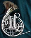 French horn Royalty Free Stock Photos