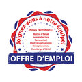 French Job offer stamp