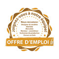 French Job offer stamp.
