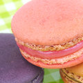 French macaroons sweet and colourful Stock Photo