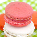 French macaroons sweet and colourful Royalty Free Stock Photos