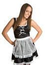 French Maid Stock Image