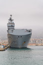 French navy Mistral class helicopter carrier