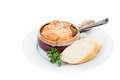 French onion soup with cheese and bread Stock Photo