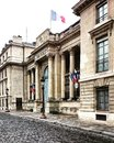 The French Parliament building in Paris, France. Royalty Free Stock Photo